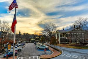 Downtown Dahlonega and Gold Museum