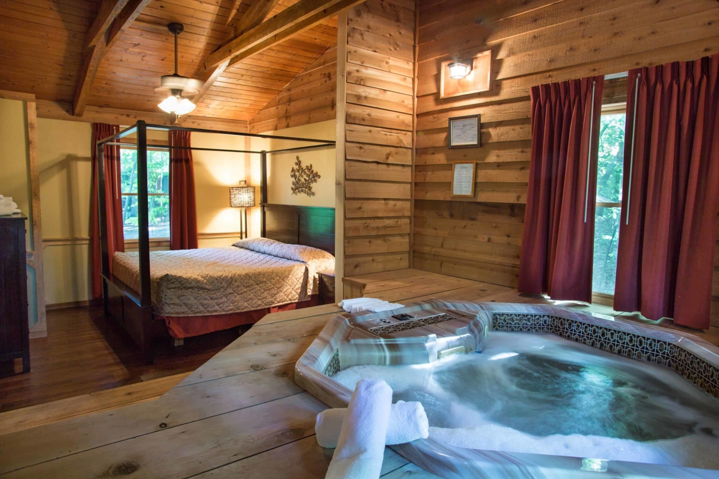 cabins in dahlonega - all with hot tub & fireplace at forrest hills