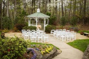 Small Garden Wedding Venue in Dahlonega Georgia
