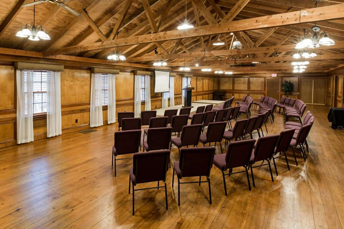 conference center with free wifi, retreat packages, and group lodging