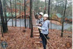 Zipline at Amicalola Falls